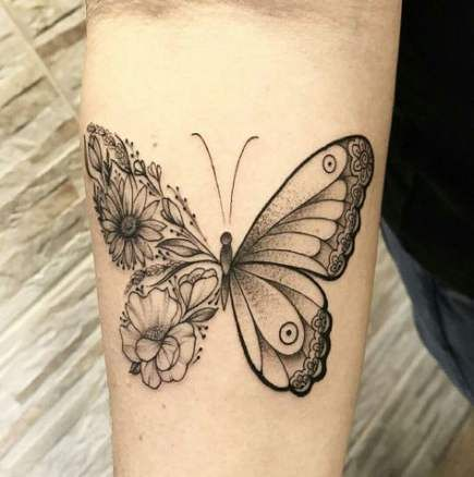31+ New Ideas Tattoo Wrist Butterfly Design