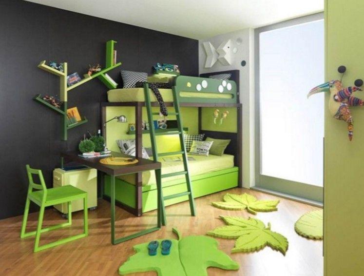 Etagenbetten Design : Abschnitt etagenbett holz mit einem design schöne wand für die