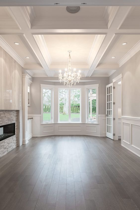 27 Incredible Open Plan Kitchen Living Room Design Ideas: 27 Amazing Coffered Ceiling Ideas For Any Room In 2019