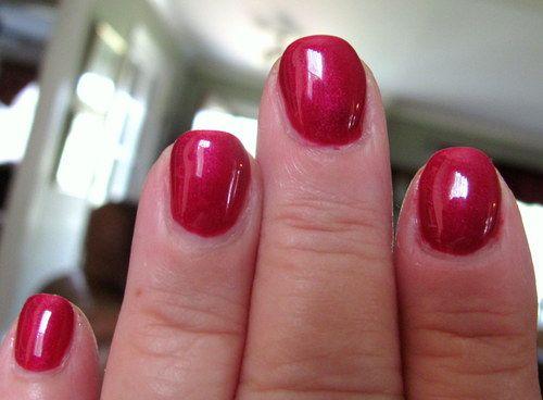 Gelish Rose Garden Nail Designs