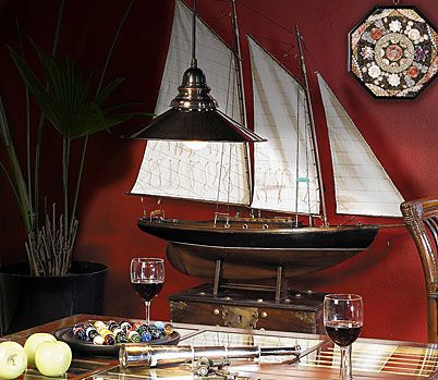 10 Antique And Vintage Boats Make Stylish Home Decorations - Decoholic