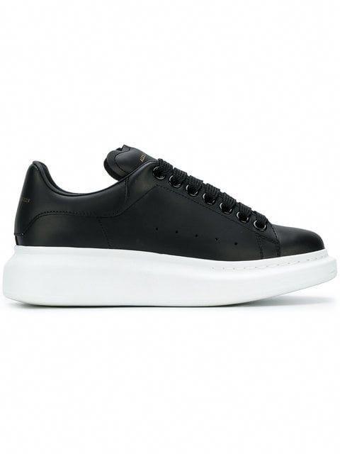 Shop Alexander McQueen extended sole sneakers  AlexanderMcQueen ... 68f0546c960