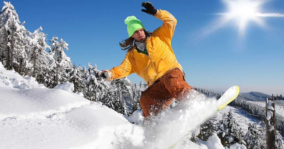Last weekend's wipeout keeping you off the slopes? See a