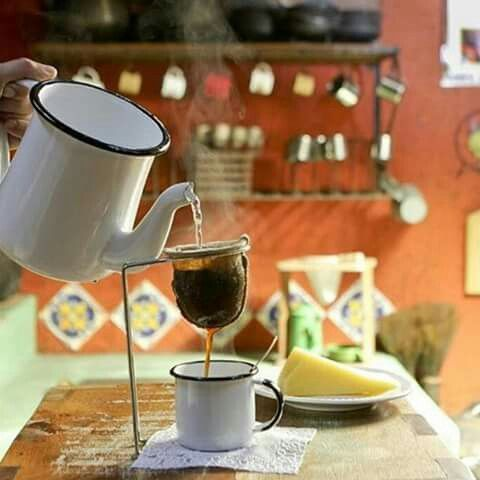 Cafe na fazenda