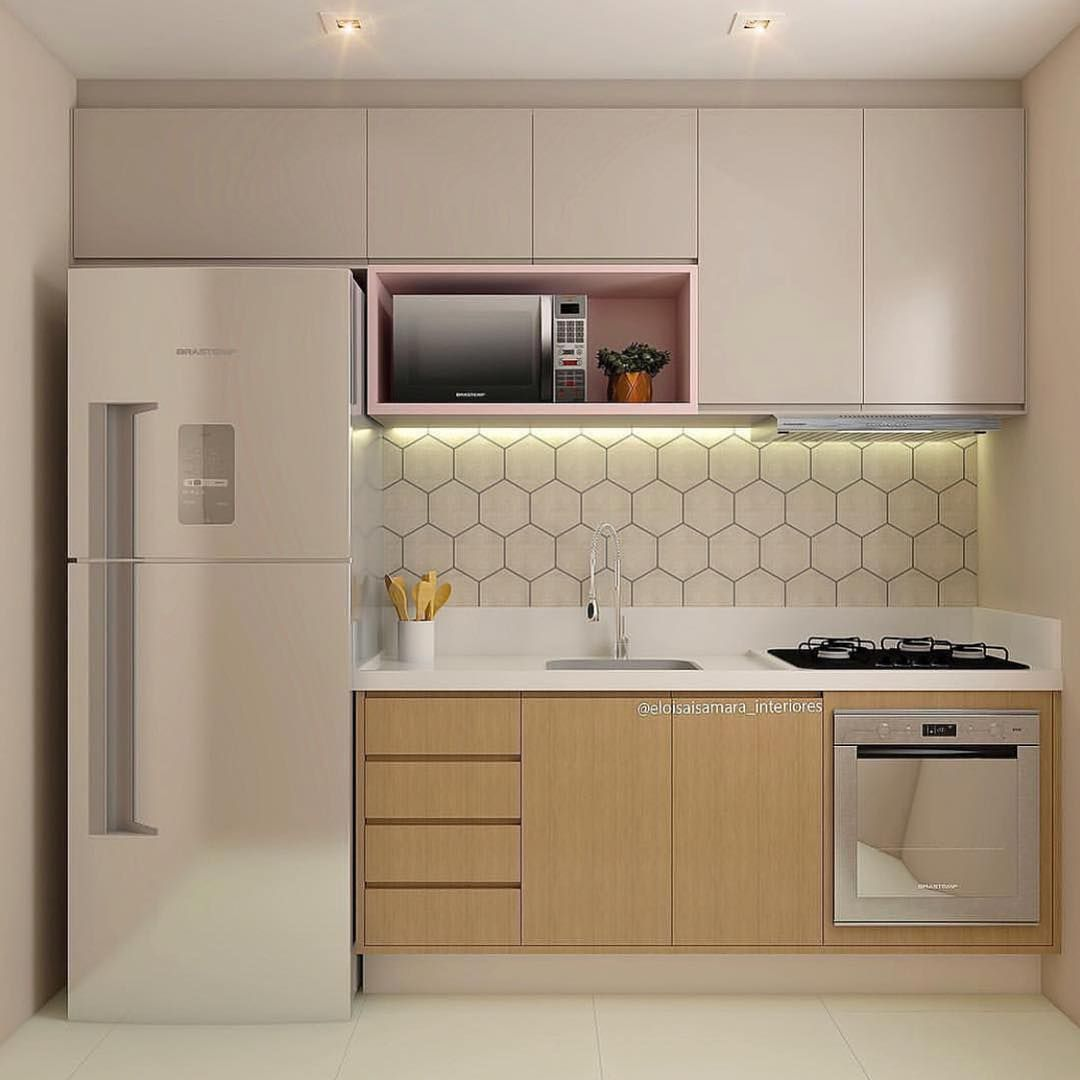 Decorating Ideas For Kitchen Walls Is Unquestionably Important For Your Home Whether You Pick The Kitche Kitchen Remodel Small Kitchen Interior Kitchen Design