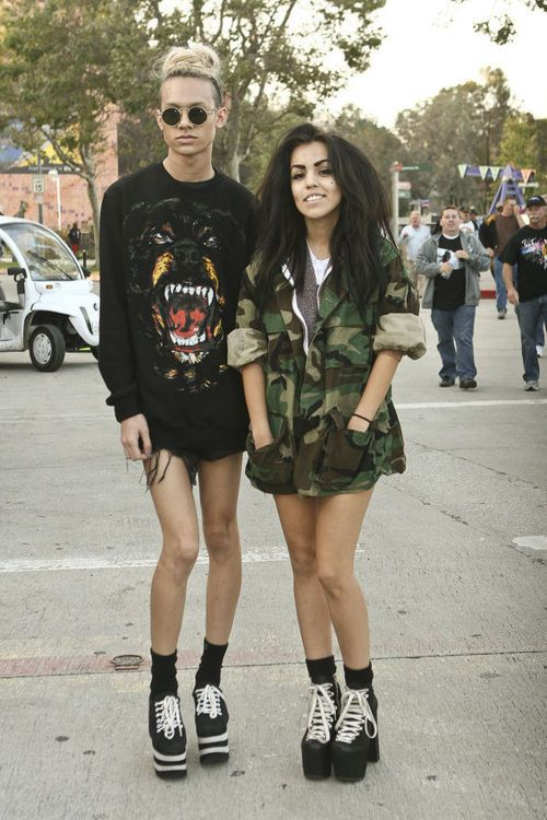 #grunge #fashion style #clothes #models #sexy #edgy # ...
