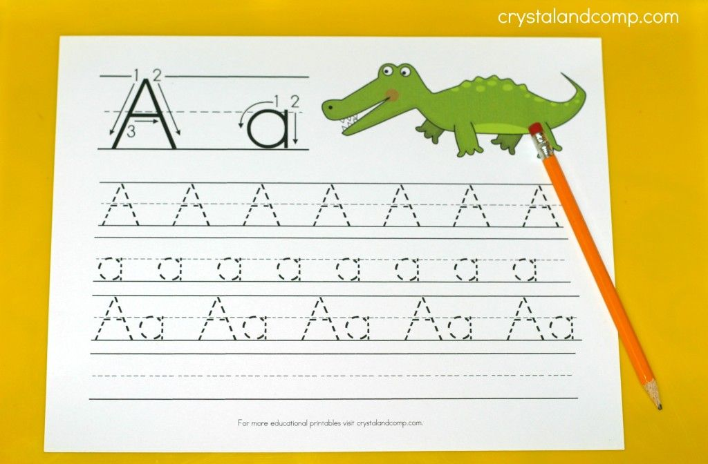 Amazing Kindergarten Worksheets Learning For Toddlers Letter A ...
