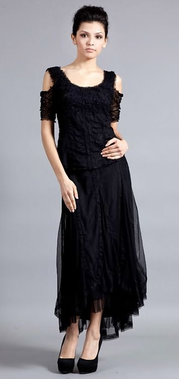 The black lace outfit for Gatsby Prohibition styled parties