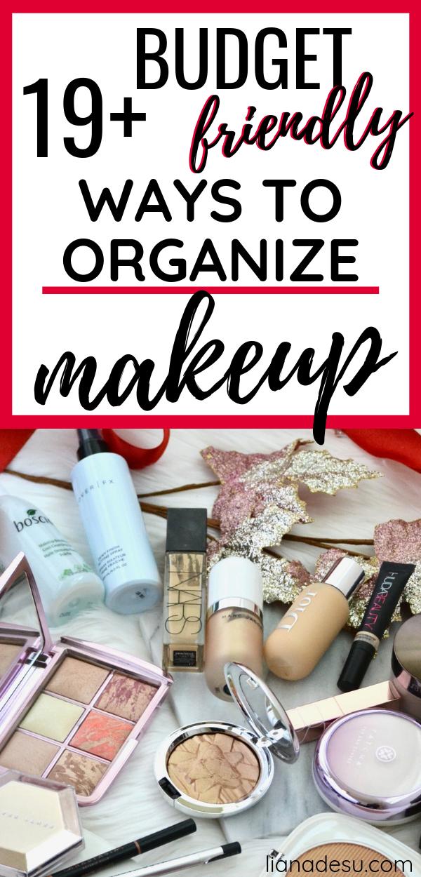 Affordable Makeup Organization Options images