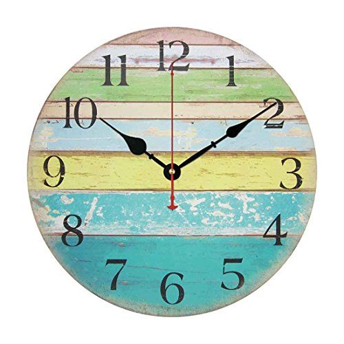 100 Beach Wall Clocks And Coastal Wall Clocks 2020 Large Wall