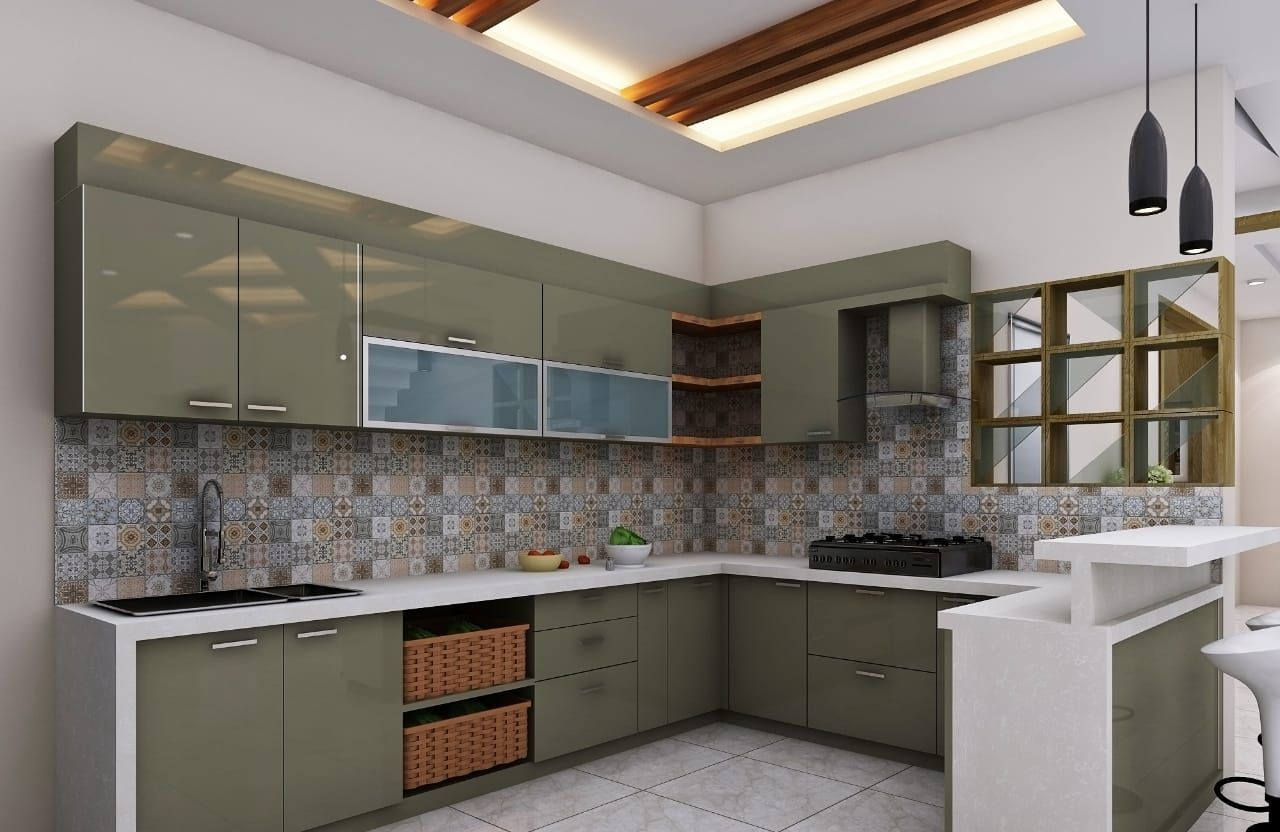 Kitchen Designers In Bangalore Modular Kitchen In 2020 Modern