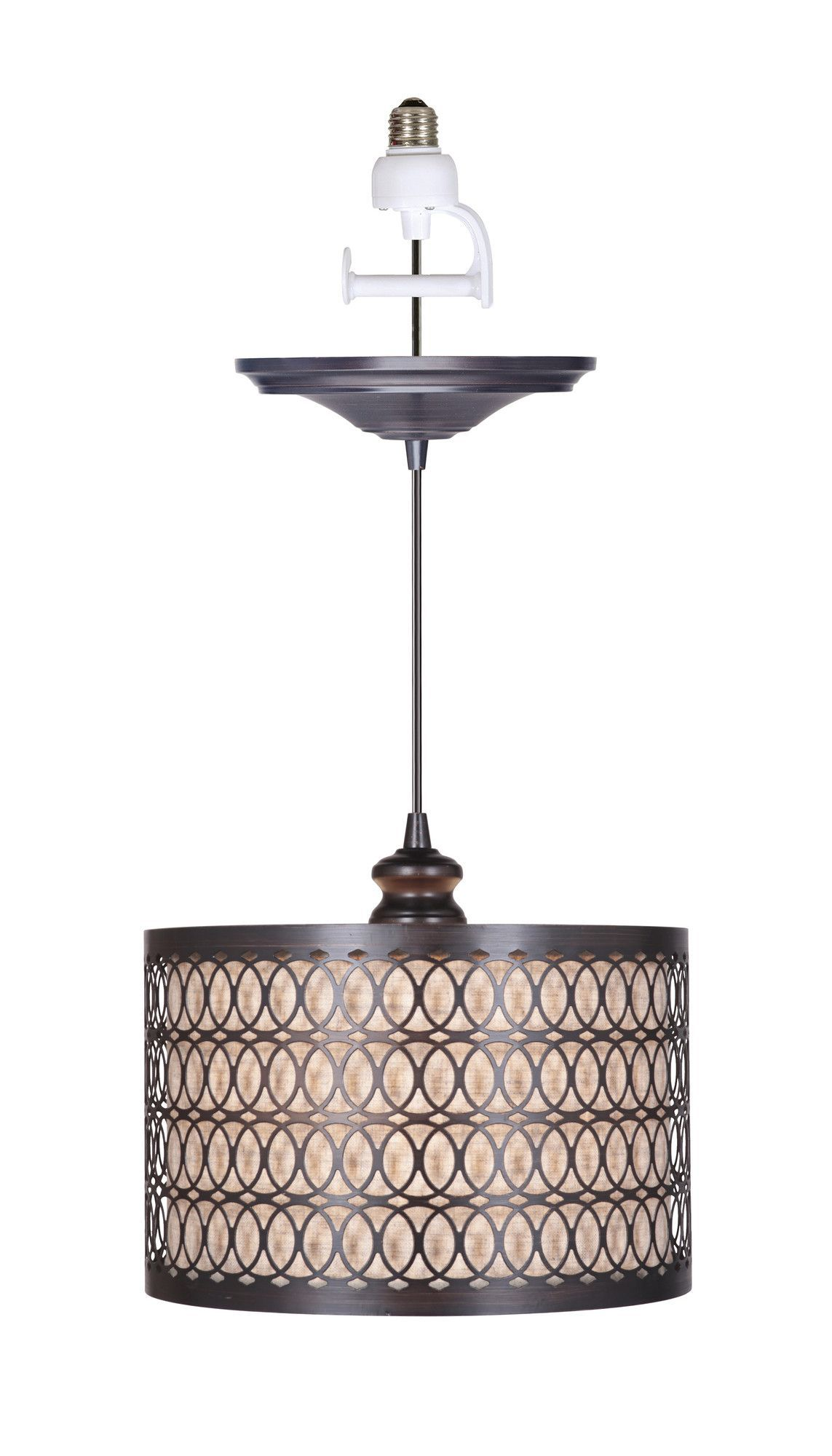 Features Instant Collection Finish Brushed Bronze Shade Material Linen And Metal S Pendant Light Recessed Lighting Fixtures Copper Pendant Lights