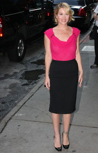 Christina Applegate - Christina Applegate at Good Morning America
