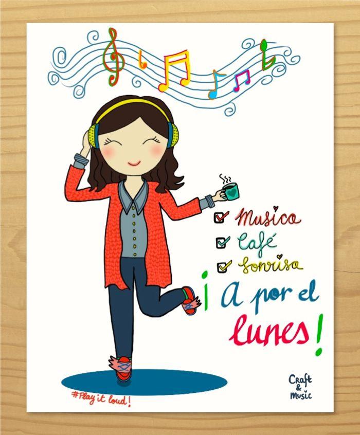Cámbiale El Humor Al Lunes Saludos De Buenos Dias Frases
