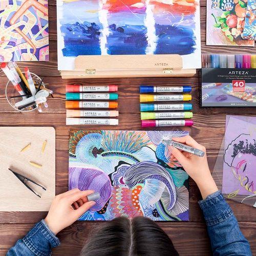 ACTIVITY PAPER COLOURED A4 PAD 80 Pages Colour Arts Crafts Texture NEW Colour UK