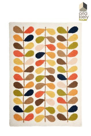 Orla Kiely Multi Stem Wool Rug