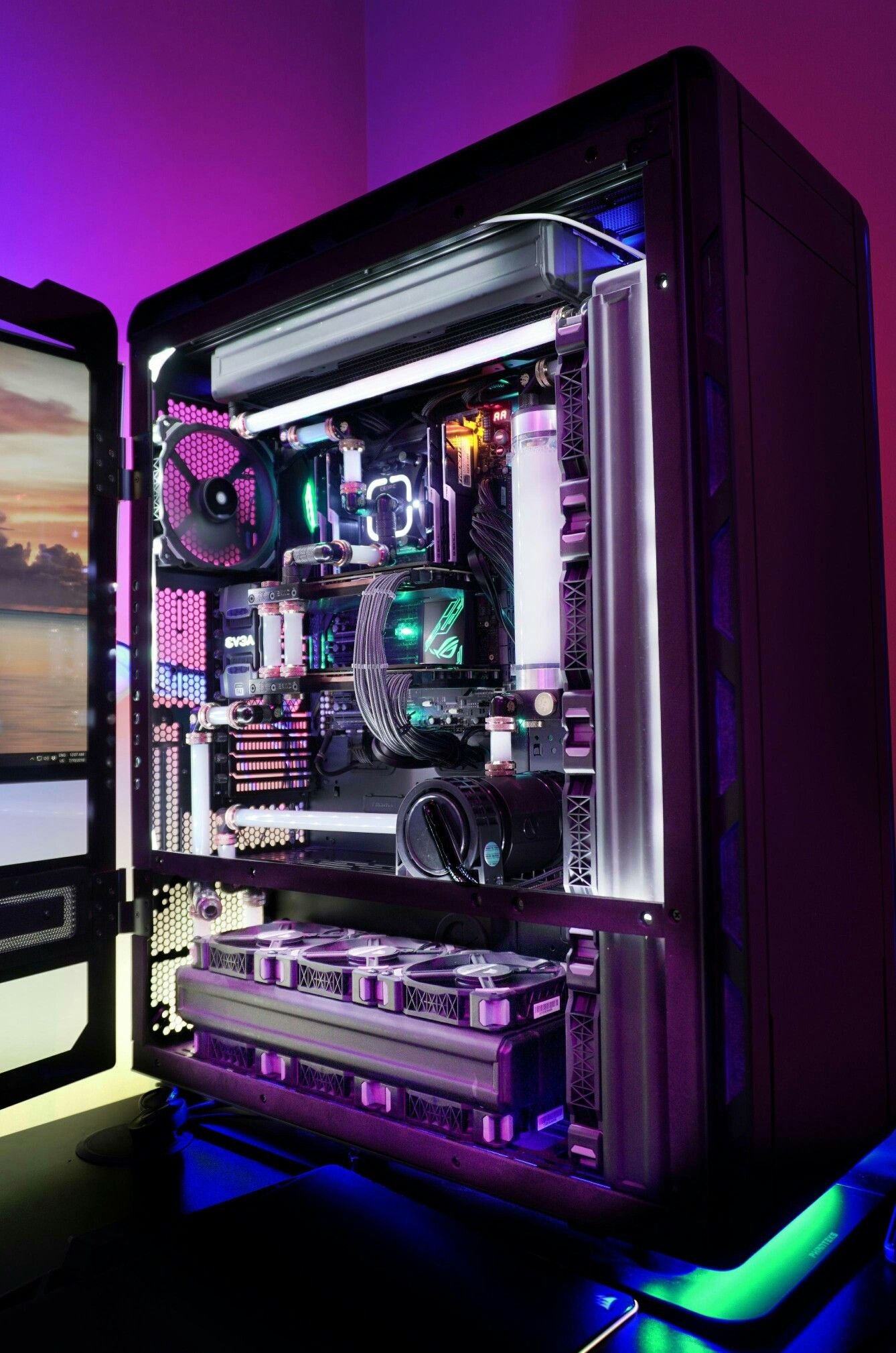 Awesome gaming pc build follow the board to get more