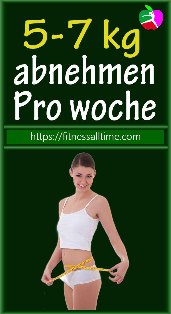 5-7 kg abnehmen Pro woche