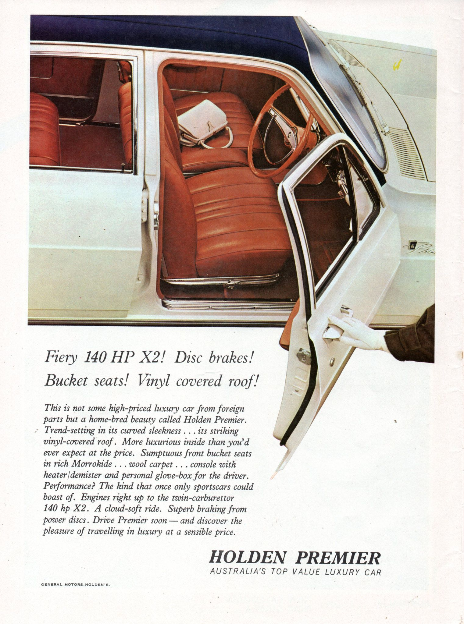 1965 Hd Holden Premier X2 Aussie Original Magazine Advertisement Holden Premier Holden Australia Australian Cars [ 2048 x 1522 Pixel ]