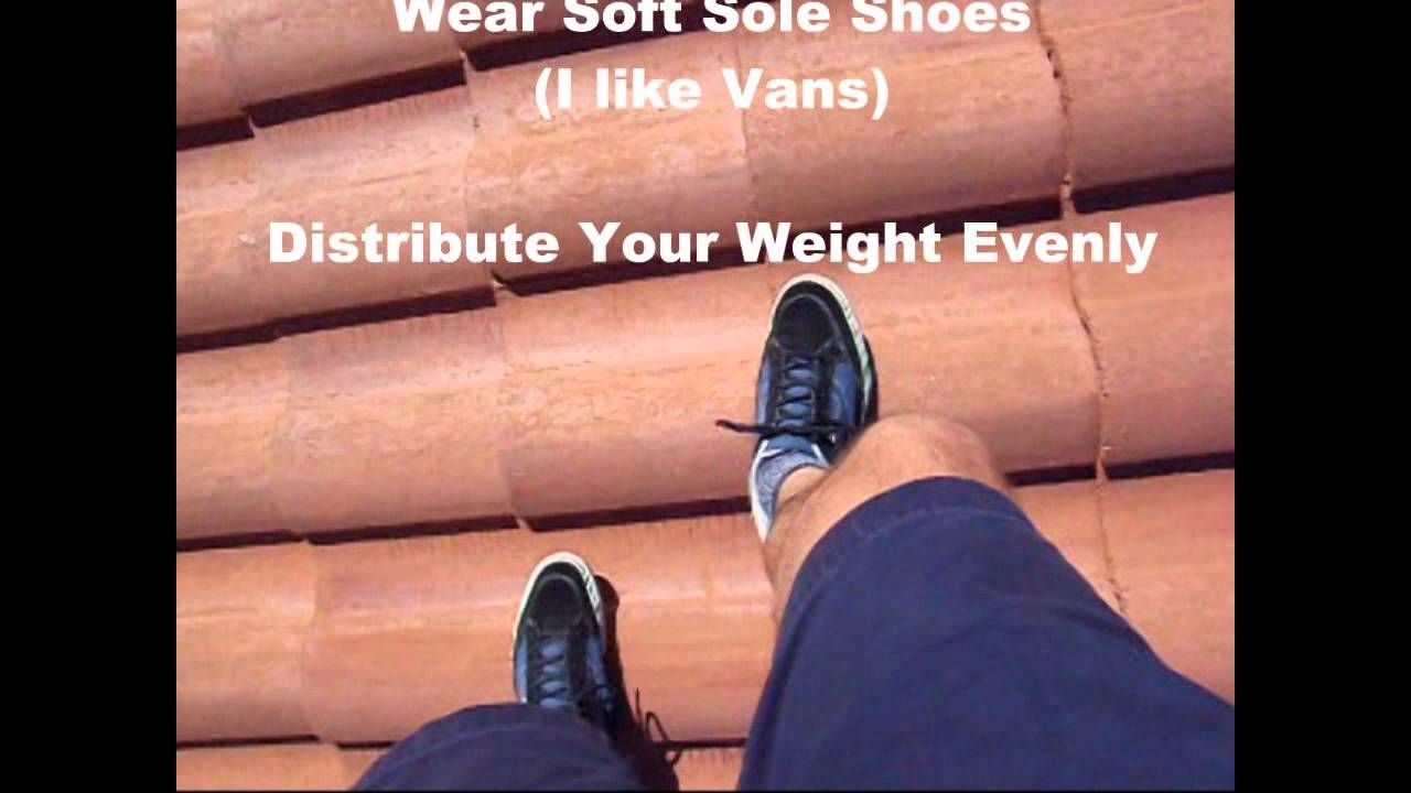 How To Walk On A Concrete Tile Roof Concrete Tiles Concrete Roof Tiles Walk On