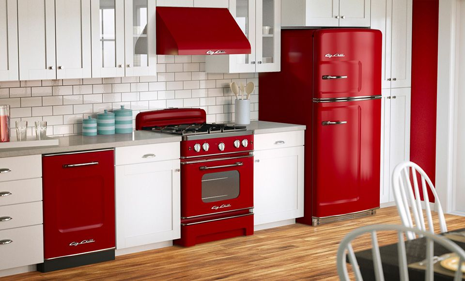 les 25 meilleures id es de la cat gorie appareils de cuisine rouges sur pinterest appareils. Black Bedroom Furniture Sets. Home Design Ideas