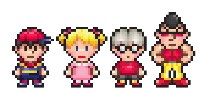 earthbound zero ninten | And before I go on, This was