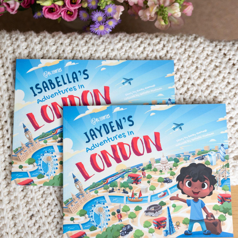 Adventures In London Personalised Children's Book