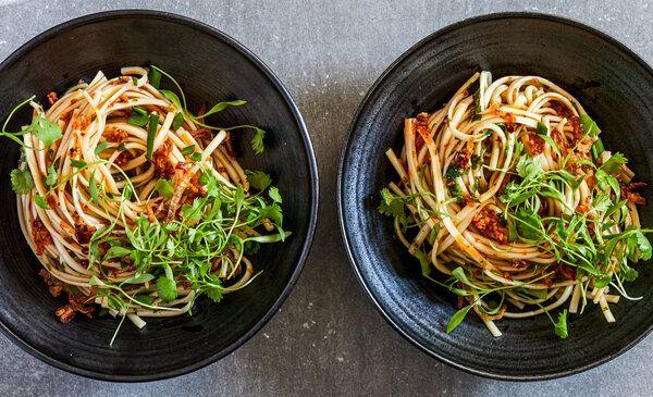 Chili Oil Noodles | Judy Kim, NYT