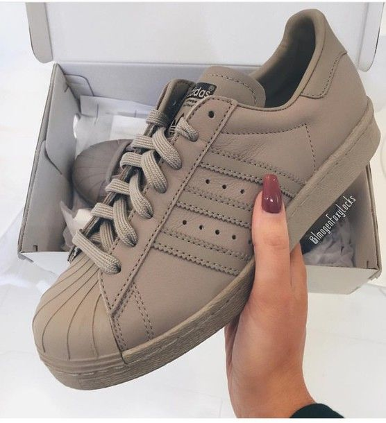 new arrivals a1b11 167dd shoes adidas originals superstar fashion new women wmn sneaks grey camel  brown beige sheltoes sneakers baskets adidas superstars adidas adidas  originals ...