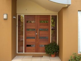 double wooden entrance doors - Google Search & double wooden entrance doors - Google Search | House build ... Pezcame.Com