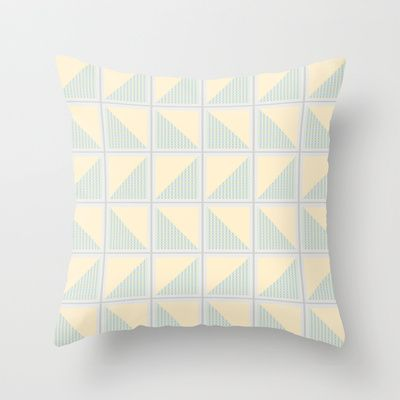Pastel Geometric Pattern Throw Pillow By Afe Images
