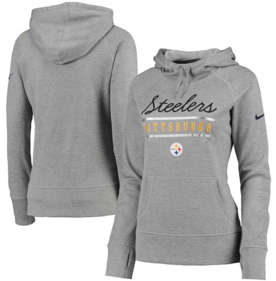 brand new 09d9a d74d2 Pittsburgh Steelers Nike Therma-Fit Women's L Cold Weather ...