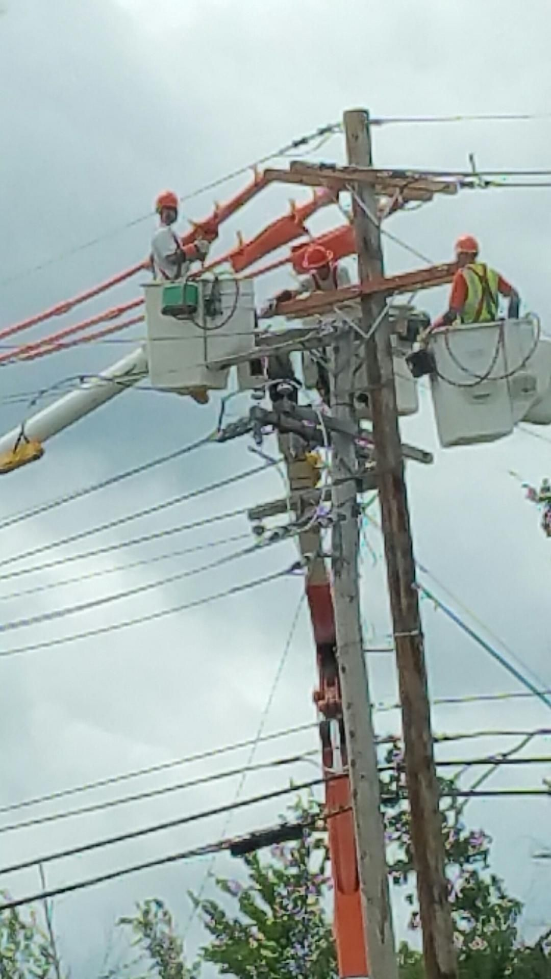 Tupper Lake Pole Replacement Power Lineman Electrical Lineman Electricity
