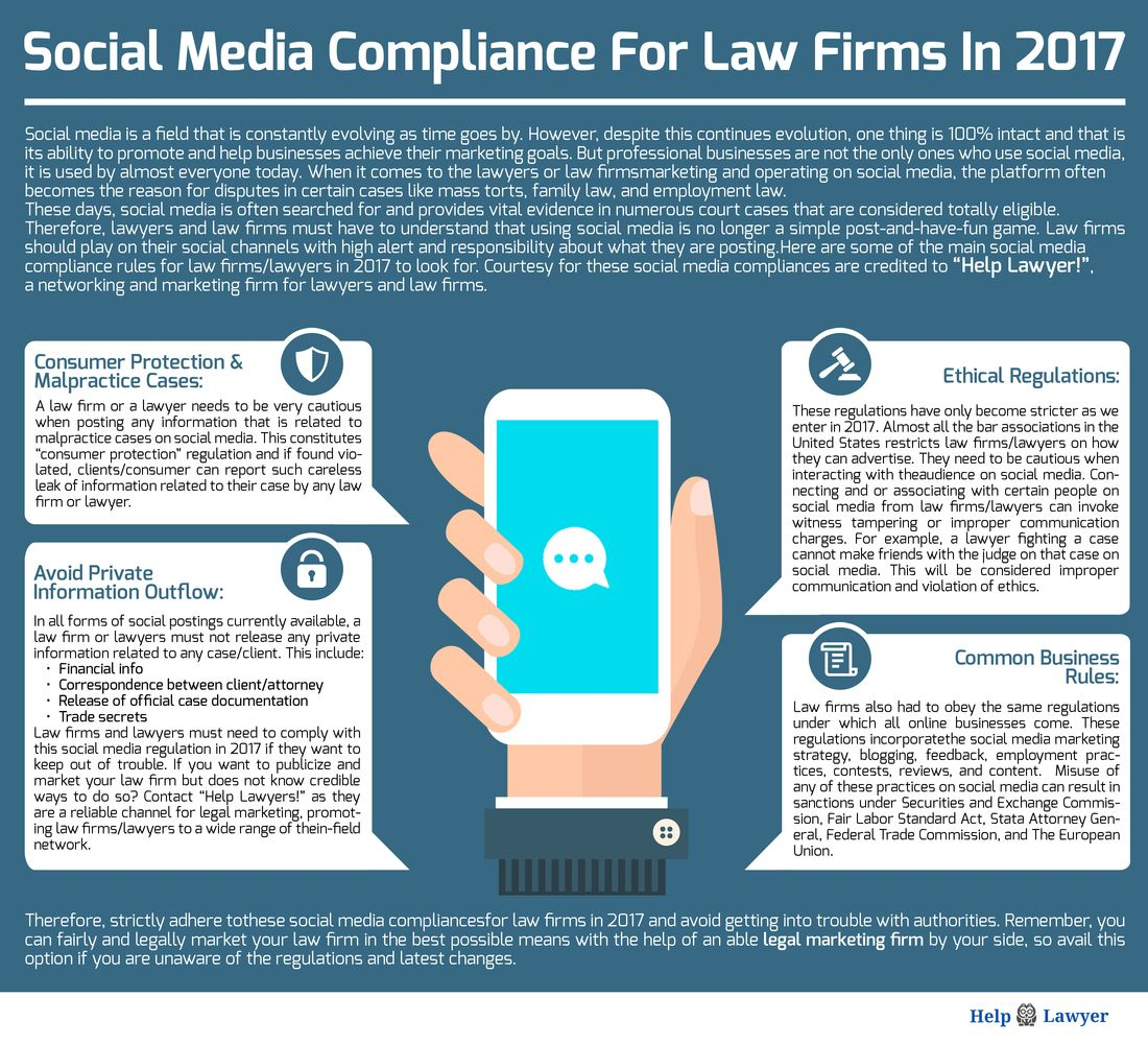 Social Media Compliance For Law Firms And Lawyers Social Media