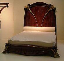 lit n nuphar louis majorelle 1902 1903 mus e d 39 orsay paris art nouveau pinterest. Black Bedroom Furniture Sets. Home Design Ideas