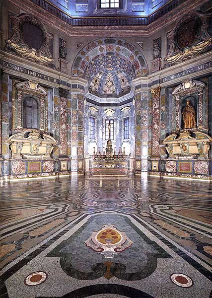 Blown Away By The Floors In The Medici Princes Chapel