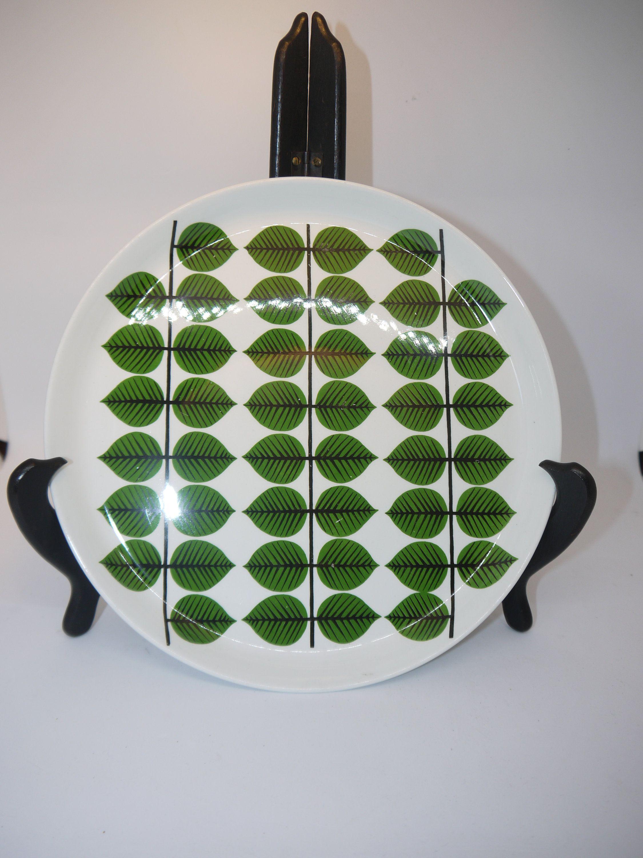 Berså - Gustavsberg - Sweden - Plate - Dinner Plate - Stig Lindberg - 60s