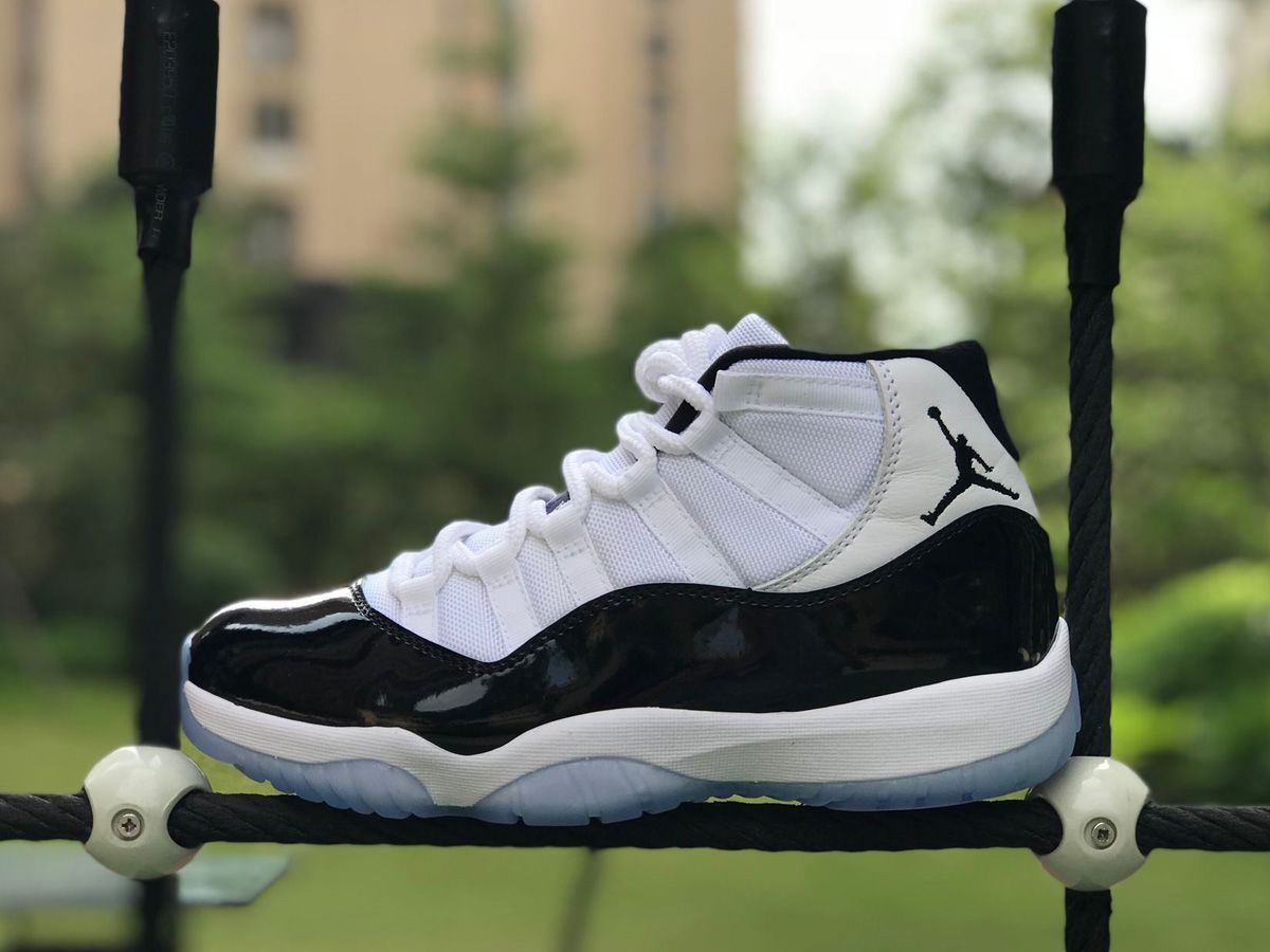 Shop Air Jordan 11 Concord OG Retro 2018 Now. This is the Air Jordan XI  Concord 2018. All release info and images can be found here. 83e01b262