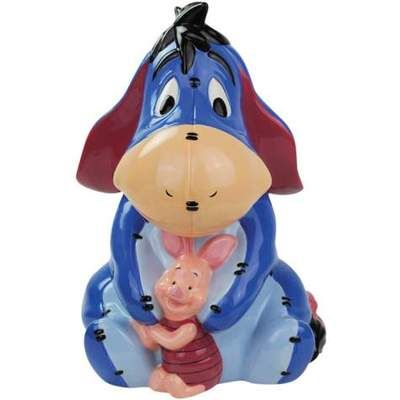 PREORDER!!!! SEE BELOW!!! DISNEY POOH 'S EEYORE & PIGLET COOKIE JAR WG (: