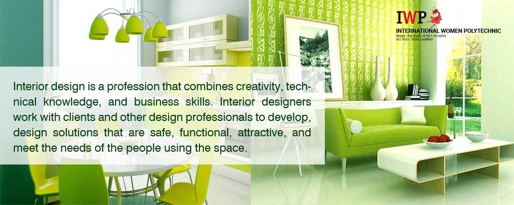 Diploma In Interior Designing Decoration httpwww