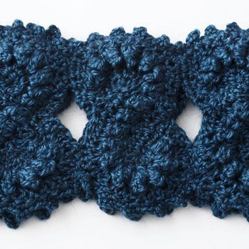 Bernat Pattern Detail Alpaca Figure Eight Cowl Free Crochet