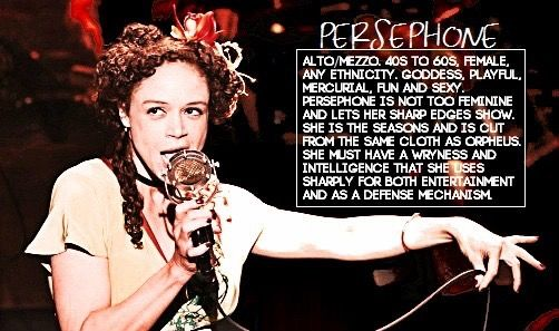 Hadestown- Persephone character description | { * T H E A T R E