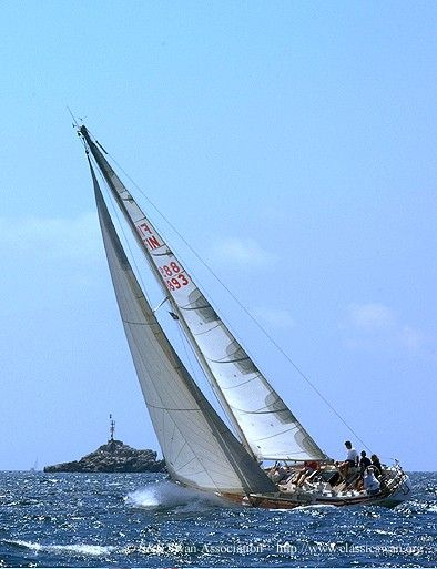 Swan 38 - A true classic designed by S and built by Nautor  Perhaps