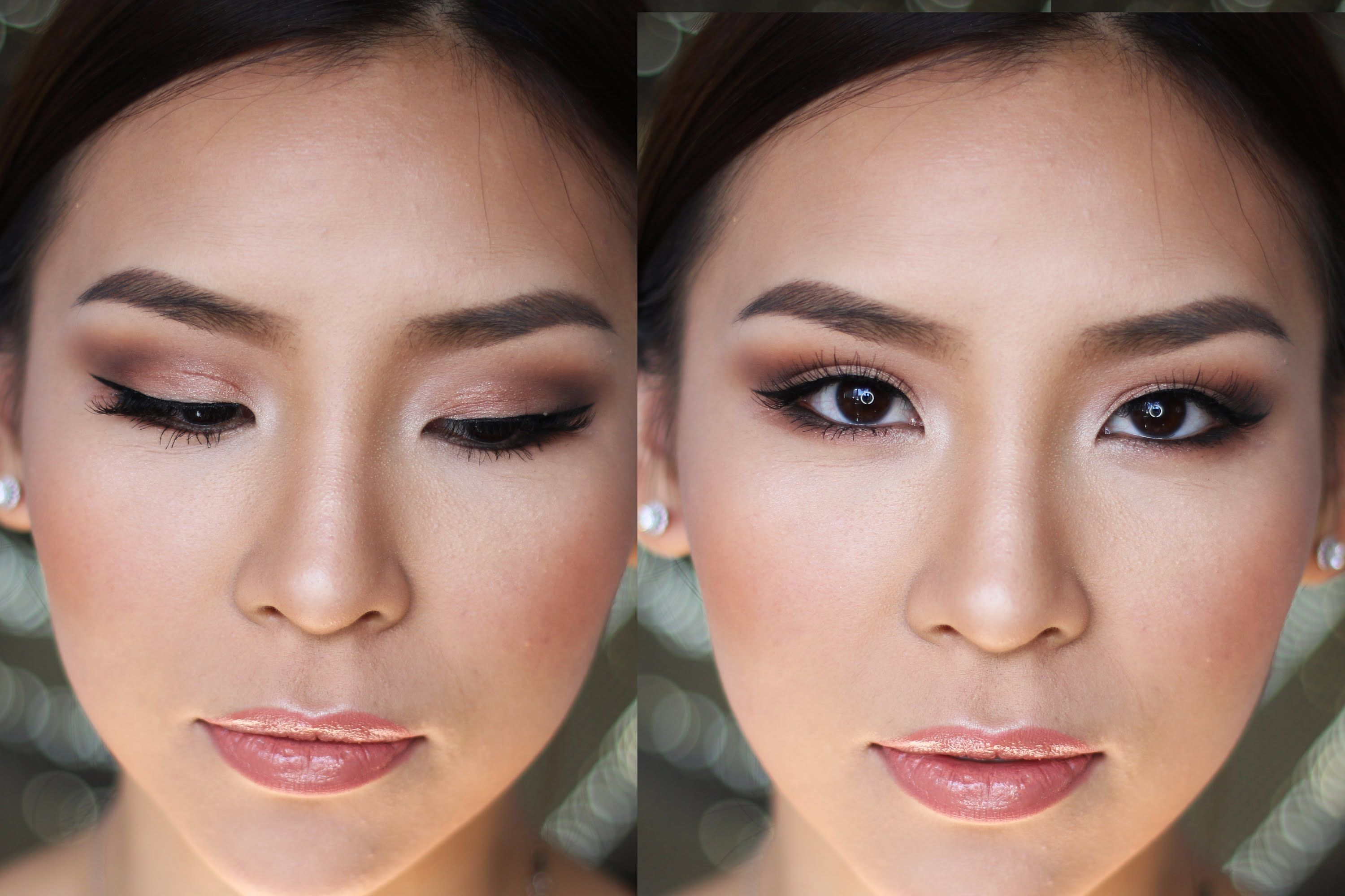 Prom Formal Makeup Tutorial Amazing Wedding Makeup Soft Bridal Makeup Wedding Makeup For Brown Eyes