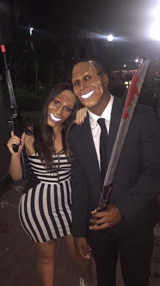 The Purge Halloween Couple Costume #stylehalloween2017