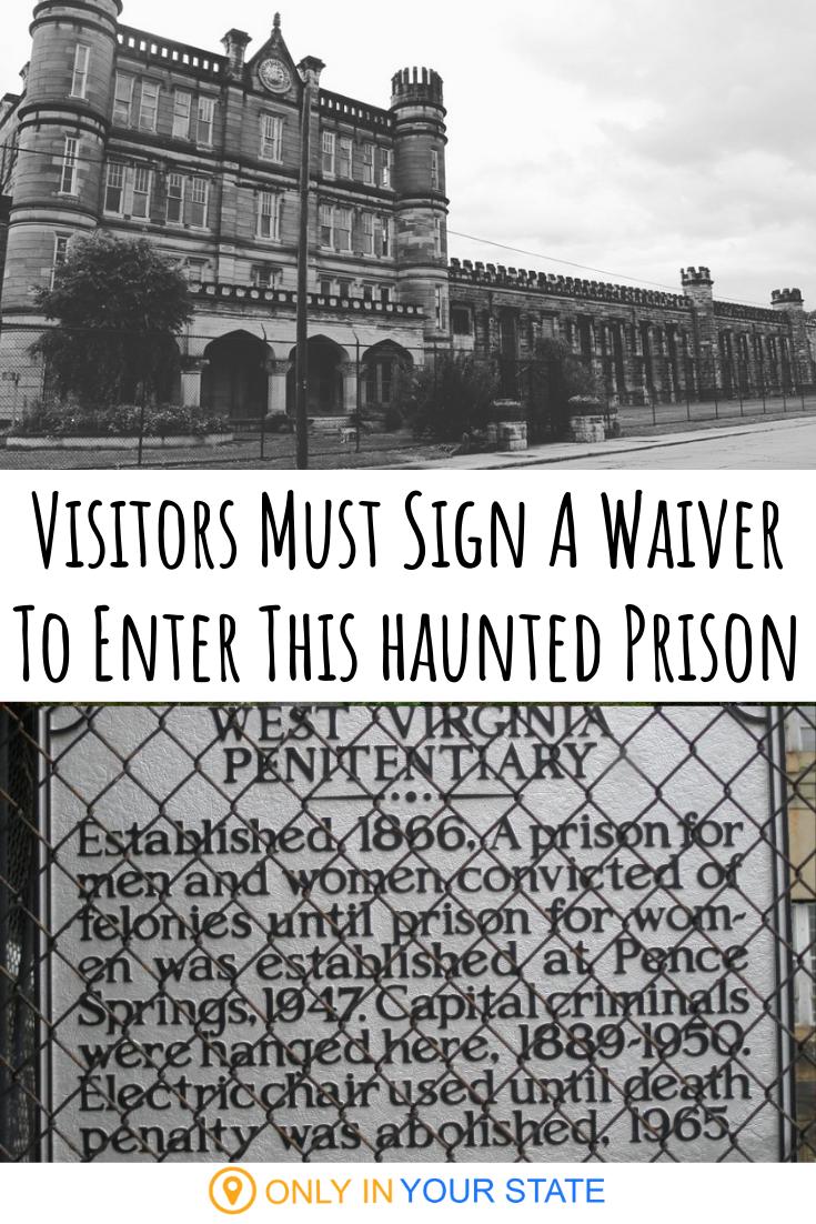 The West Virginia Penitentiary In West Virginia Is