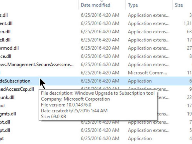 Mystery file in preview build hints at Windows 10