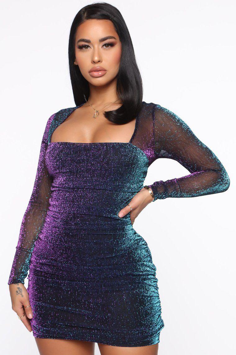 Showing More Metallic Mini Dress Purple Metallic Mini Dresses Purple Mini Dresses Mini Dress [ 1140 x 760 Pixel ]