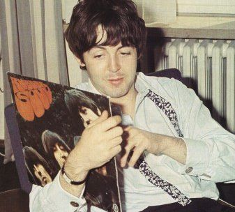The Beatles With Records – Part Two | Rubber soul beatles, Rubber ...