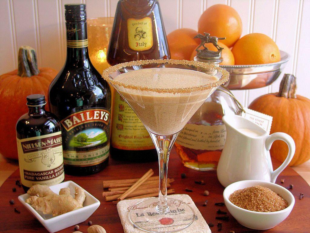 pumpkin pie martini cocktail best ever recipe